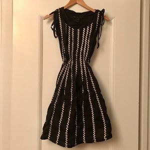 XS-S Cute Marc Jacobs 00s A-line Daisy Print Dress